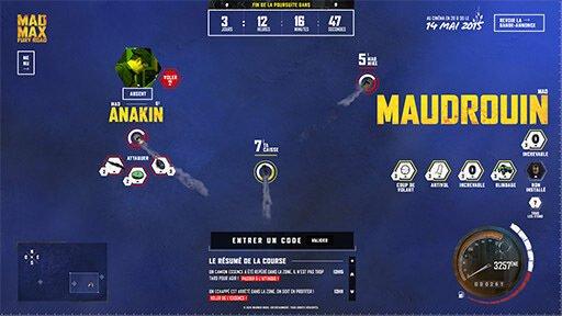 Mad Max Pursuit - FCINQ